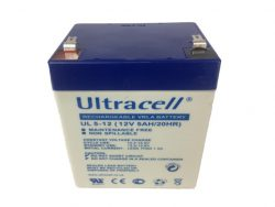 Ultracell Accu 12 volt, 5Ah