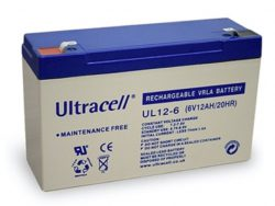 Ultracell Accu 6 volt, 12 Ah