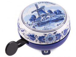 Holland - Fietsbel - Delfts Blauw - 80 mm
