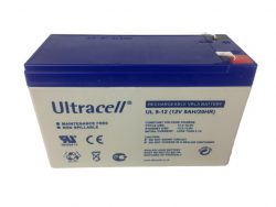 Ultracell Accu 12 volt, 9Ah