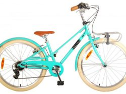 Volare Melody Kinderfiets - Meisjes - 24 inch - Turquoise - 6 speed - Prime Collection