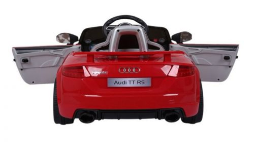 Audi TT RS - Softstart - Leder zitje - Rood