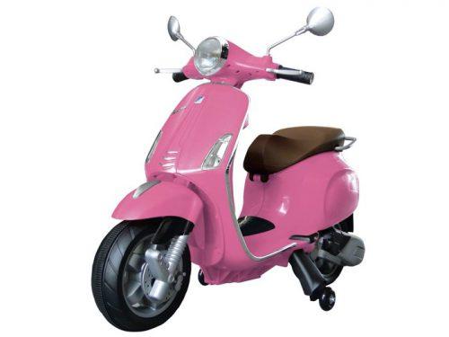 Vespa Primavera, 12 volt elektrische scooter met muziek en meer!