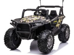 Beach Buggy CAMO, 24 volt Kinder accu auto, MP4 & softstart