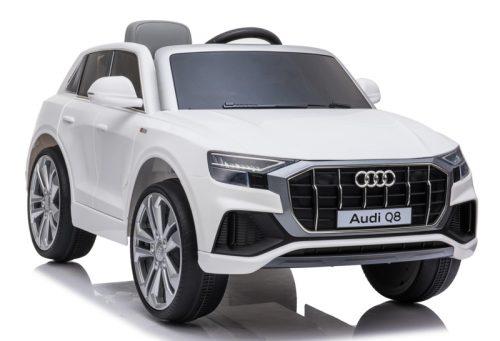Audi Q8 Quattro S-LINE 12V - WIT, SoftStart, Multimedia