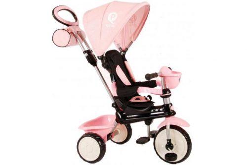 QPlay Driewieler Comfort 4 in 1 - Meisjes - Roze