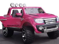 Ford Ranger 12 V - 2 PERSOONS - Roze - Softstart en Multimedia