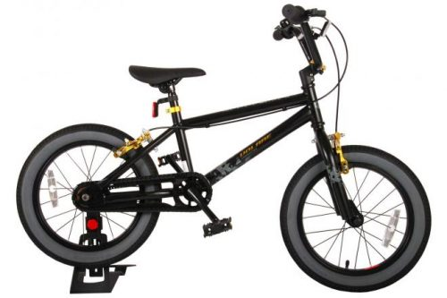 Volare Cool Rider Kinderfiets - Jongens - 16 inch - Zwart - twee handremmen - 95% afgemonteerd