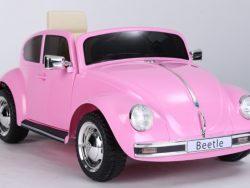 Volkswagen Beetle - Softstart - Roze - Multimedia