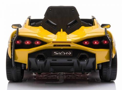 Lamborghini Sian GEEL - MP4 Scherm - Lambo deuren - Softstart