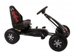 Volare Go Kart Racing Car - Jongens - Groot - Luchtbanden - Zwart