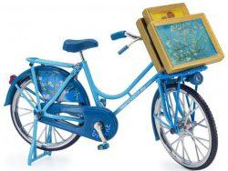 Miniatuurfiets - Amandelbloesem - Van Gogh - Blauw
