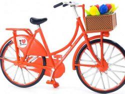 Miniatuurfiets - Tulpen - Oranje