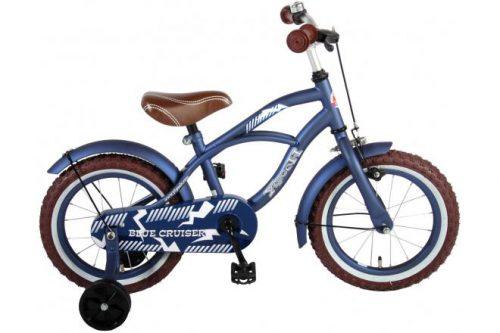 Volare Blue Cruiser Kinderfiets - Jongens - 14 inch - Blauw - 95% afgemonteerd