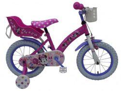 Disney Minnie Cutest Ever! - Kinderfiets - Meisjes - 14 inch - Roze