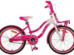 Volare Lovely Kinderfiets - Meisjes - 20 inch - Roze Wit