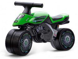 Falk Bud Baby Racing Team Moto - Unisex - Groen - Loopfiets